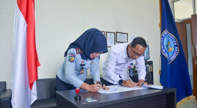 Bapas Bandar Lampung Teken MoU Penanganan Pengguna Narkoba Khusus Anak