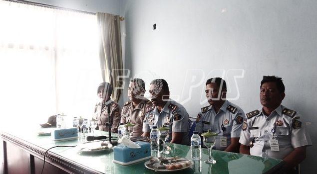 Rutan Jantho Koordinasikan Polsus Dengan Sat. Binmas Polda Aceh