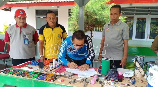 Razia Blok WBP Rutan Wonosari, Divisi PAS Yogyakarta Laksanakan Program Zero HALINAR