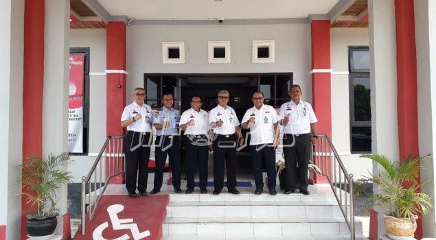 Kunjungi LPN Kasongan, Inspektur Wilayah I Tinjau Alat X-Ray sebagai Sarana Pengamanan Kunjungan