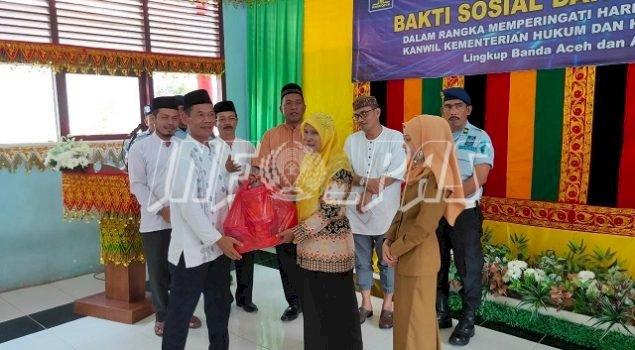 Rutan Jantho Tuan Rumah Bakti Sosial Kanwil Aceh