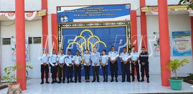 Perkuat Pengawasan, Kadiv PAS Maluku Kunjungi Saumlaki