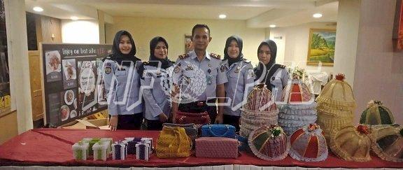 LPP Sungguminasa Pamerkan Karya WBP di Lomba Kadarkum