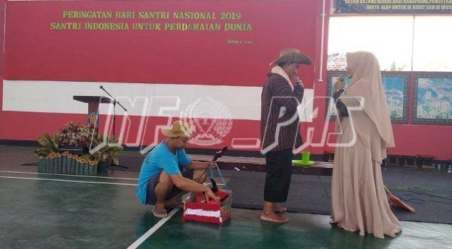"""Drama """"Kisah Santri"""" Meriahkan Hari Santri Nasional di Rutan Batang"""