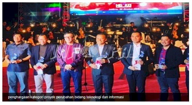 Aplikasi SIKAP Bawa Sigit Budiyanto Terima Penghargaan Inovasi TI