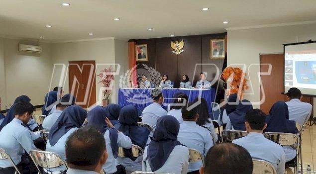 3 Petugas LPKA Jakarta Sosialisasikan Pembayaran Tunker Berbasis SIMPEG