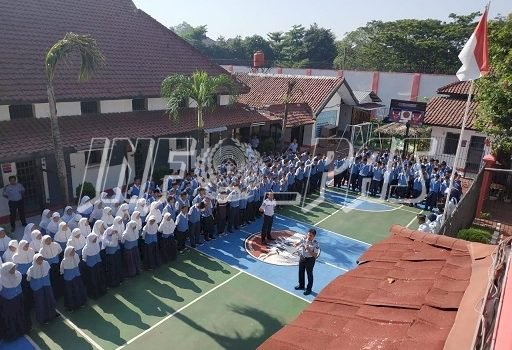 Ratusan Siswa SMP Sesaki Rutan Rangkasbitung