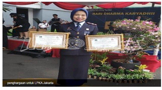 Sabet 3 Penghargaan, Ini Kata Kepala LPKA Jakarta
