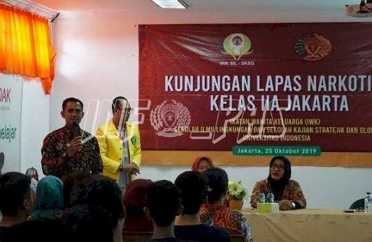 IWK SKSG UI Pelajari Pembinaan WBP di LPN Jakarta