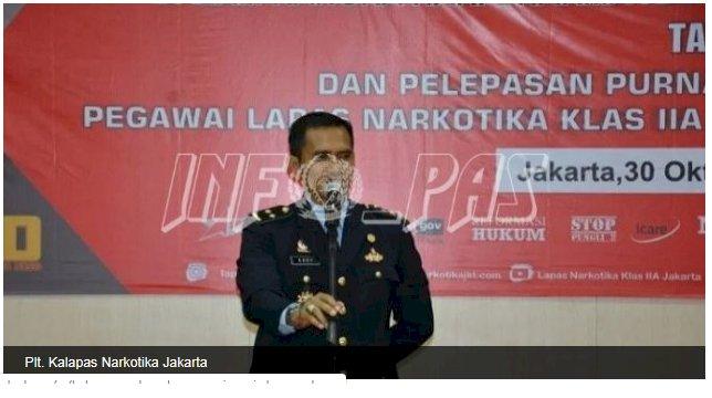 Lepas Petugas Purnabakti, Ini Pesan Plt. Kalapas Narkotika Jakarta