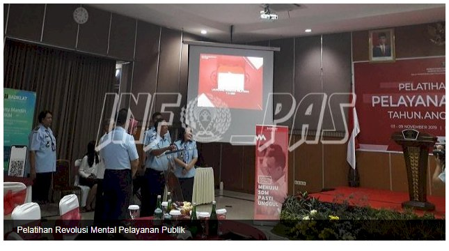Petugas Bapas Yogyakarta Ikuti Pelatihan Revolusi Mental Pelayanan Publik