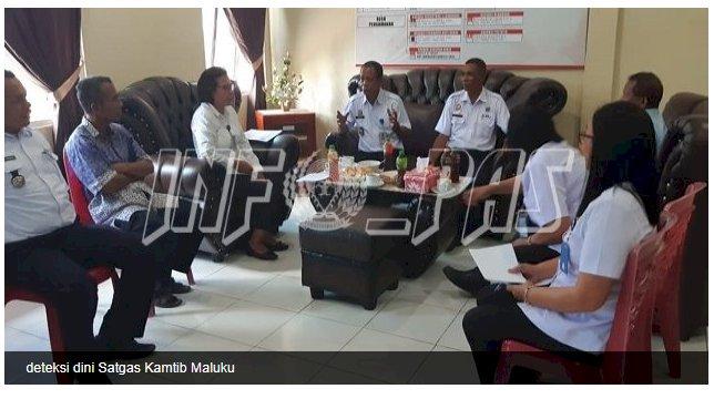 Satgas Kamtib Maluku Deteksi Dini Gangguan Kamtib di Lapas Piru