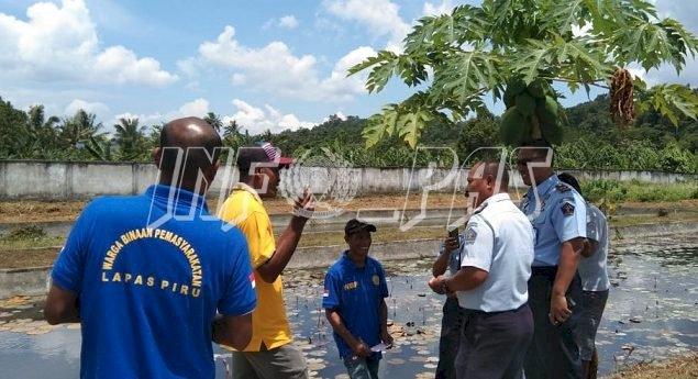 Kelompok Nelayan Lapas Piru Studi Tiru ke Balai Pendidikan Seram Bagian Barat