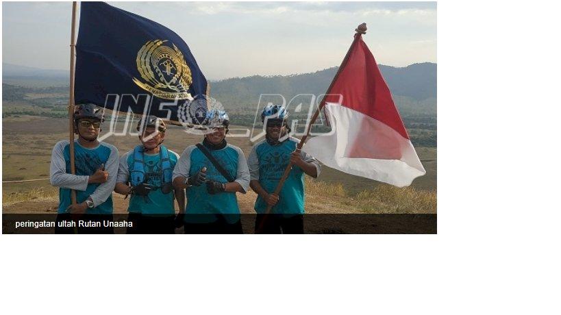 Rutan Unaaha Rayakan Hari Jadi ke-12 ke Gunung Ahuwawali
