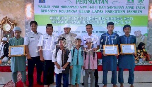 LPN Jakarta Peringati Maulid Nabi Muhammad SAW Bersama Anak Yatim