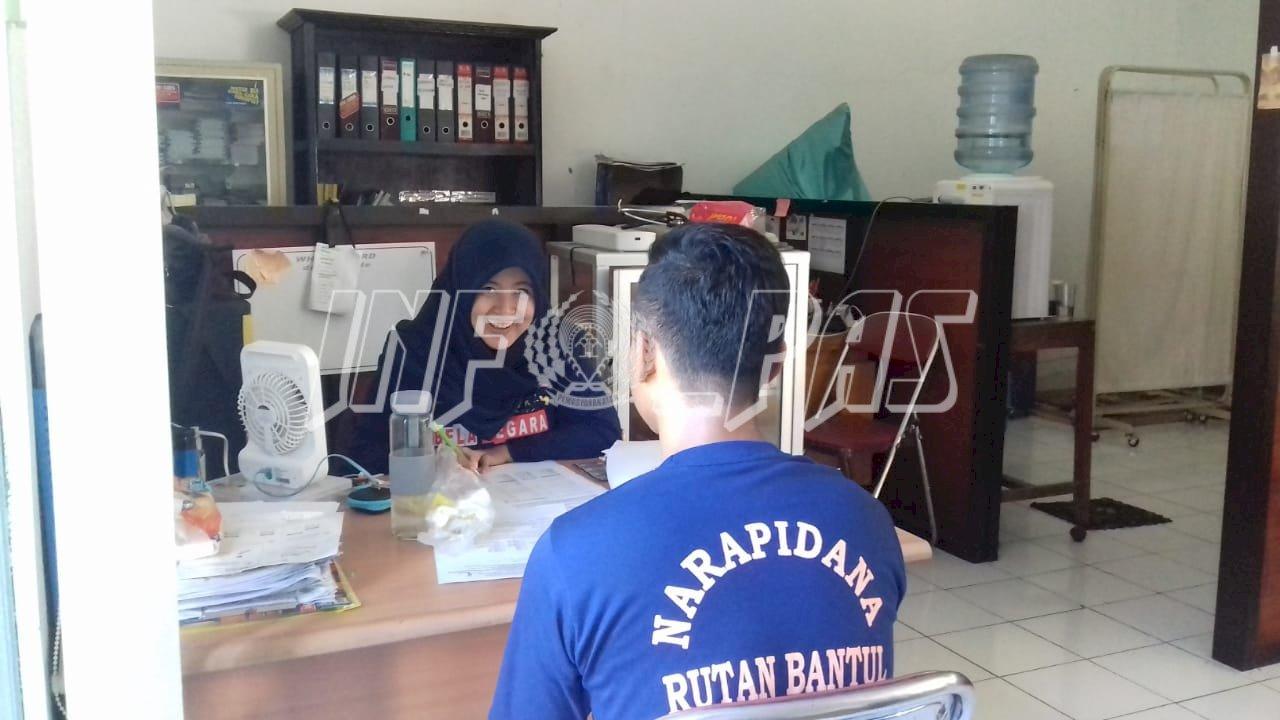 Skrining ASSIST & Tes Urin Tangkal Peredaran Narkoba di Rutan Bantul