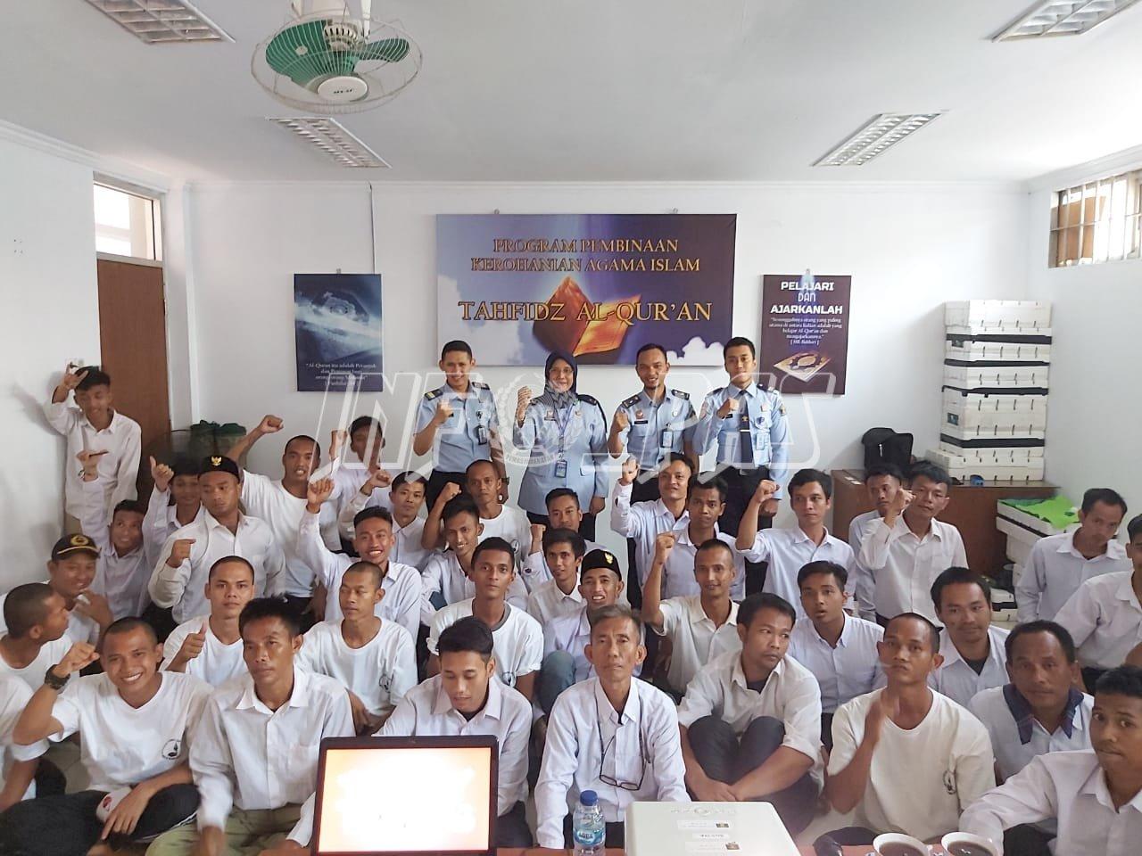 WBP LPN Jakarta Ikuti Kegiatan Peningkatan Kesadaran Hukum