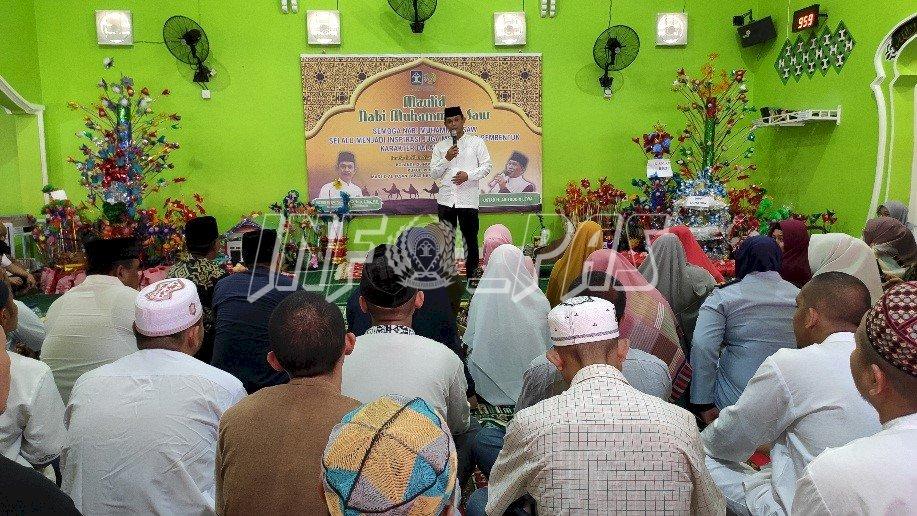Zikir & Mauhidoh Hasanah Warnai Peringatan Maulid Nabi di LPN Sungguminasa