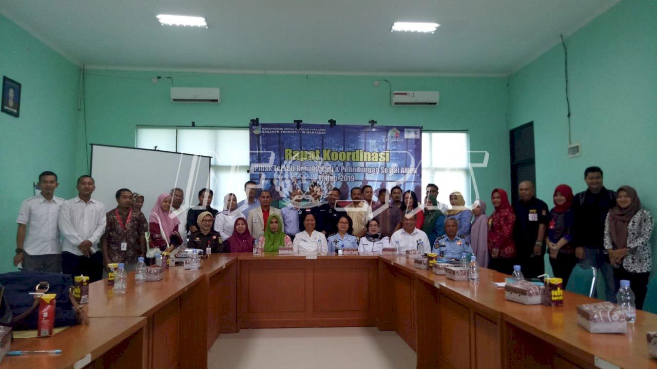 Kabapas Makassar Hadiri Rakor Rehabilitasi & Perlindungan Anak