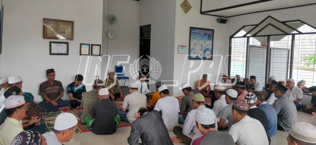Tausyiah Ustaz Tahudin Ajak WBP Rutan Tamiang Layang Tak Berputus Asa