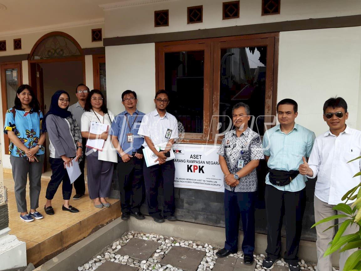 Tinjau Tanah & Bangunan, TIm KPKNL & KPK Datangi Rupbasan Bandung