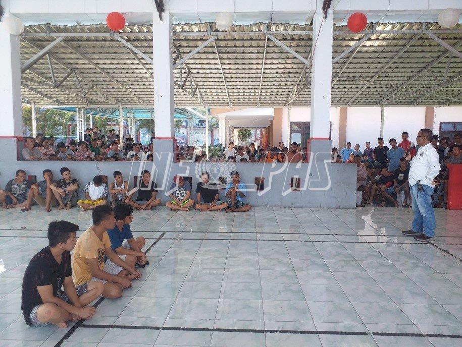 WBP Rutan Manado Diingatkan Jaga Kamtib, Kebersihan, dan Tingkatkan Kerohanian