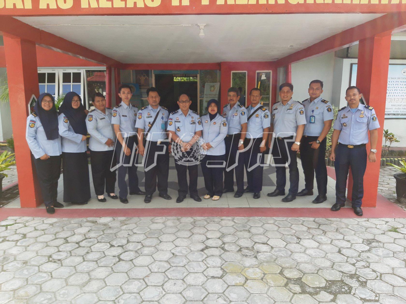Siap Operasional, Bapas Sampit Studi Tiru ke Bapas Palangka Raya