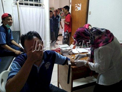 Antisipasi HIV dan Hepatitis B, Lapas Gunung Sindur Gelar VCT