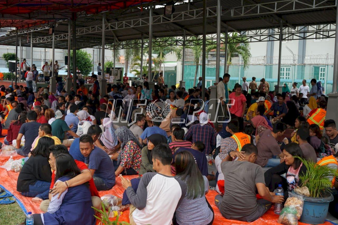 Kunjungan Kontak Langsung, Apresiasi LPN Jakarta Kepada WBP & Keluarganya