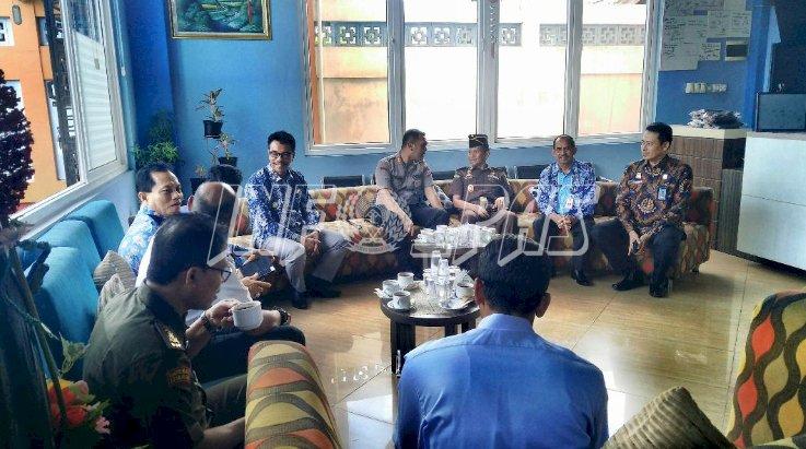 Kalapas Muara Teweh Hadiri Penyerahan DIPA  2020 & Penandatangan Pakta Integritas