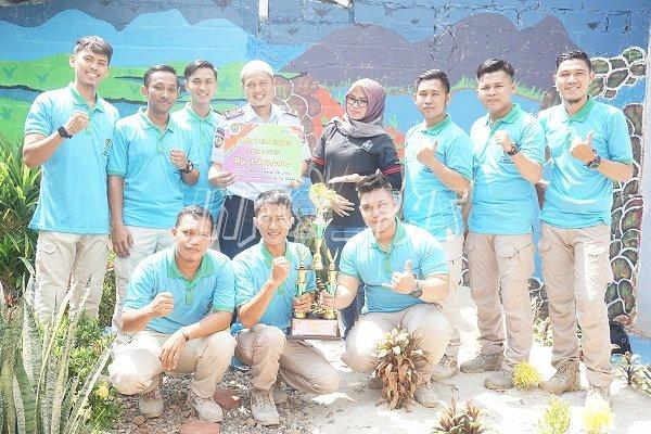 Lapas Muara Enim Juara II Lomba Senam Serasan