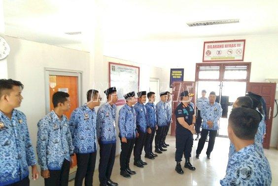 Kakanwil Kalteng  Kunjungi Lapas Sukamara