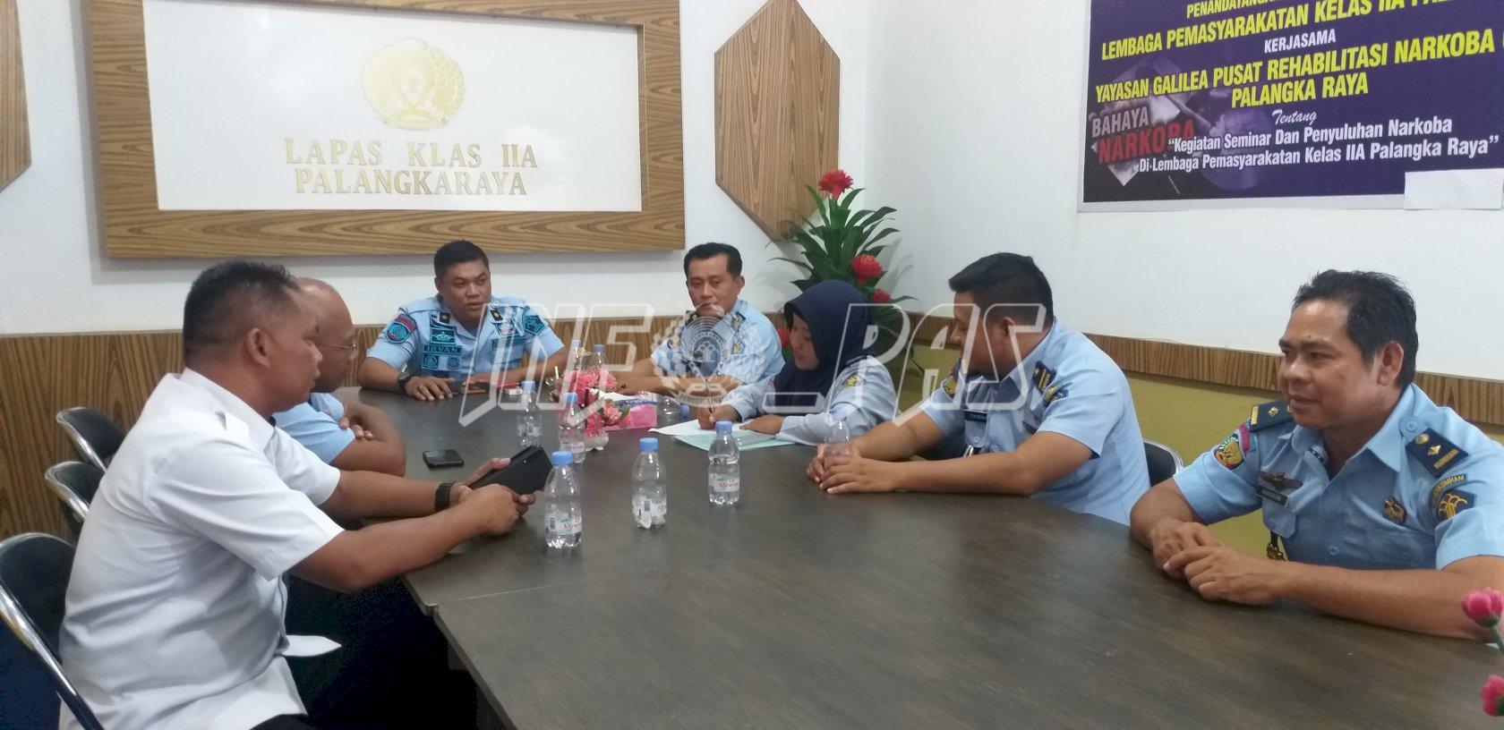 Bapor Genjot Peningkatan Pembinaan Olahraga di Lapas Palangka Raya