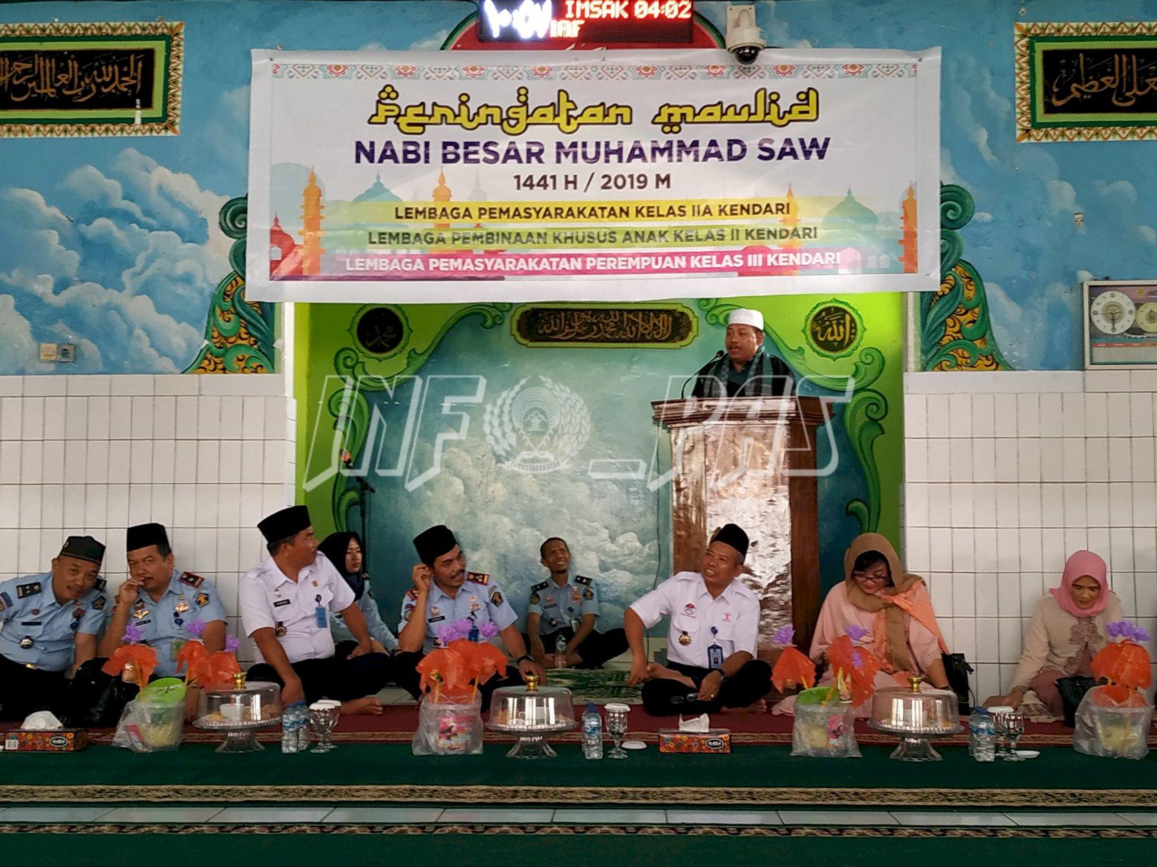 LPP Kendari Peringati Maulid Nabi Muhammad Bersama Lapas & LPKA Kendari