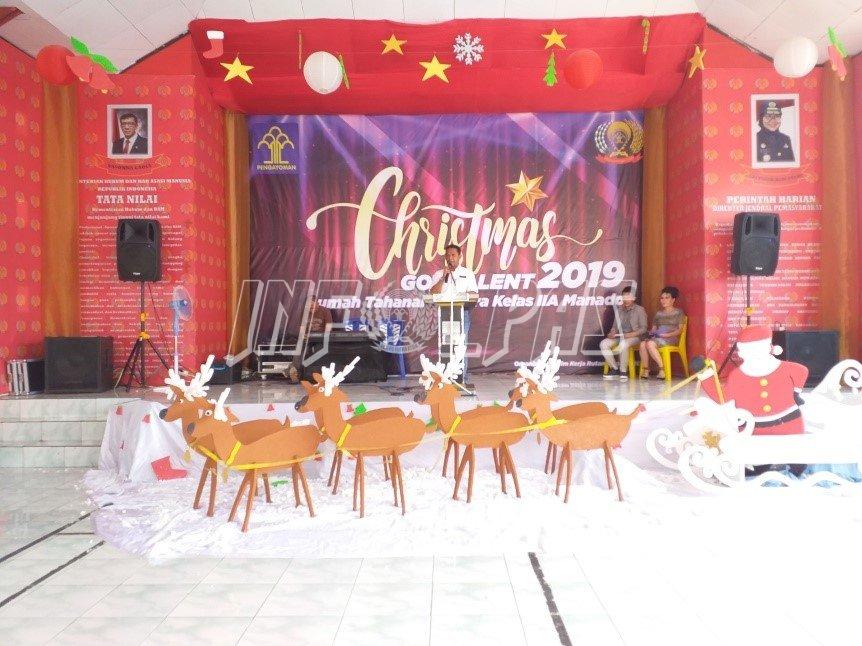 Festival Christmas Malendeng Sambut Natal di Rutan Manado