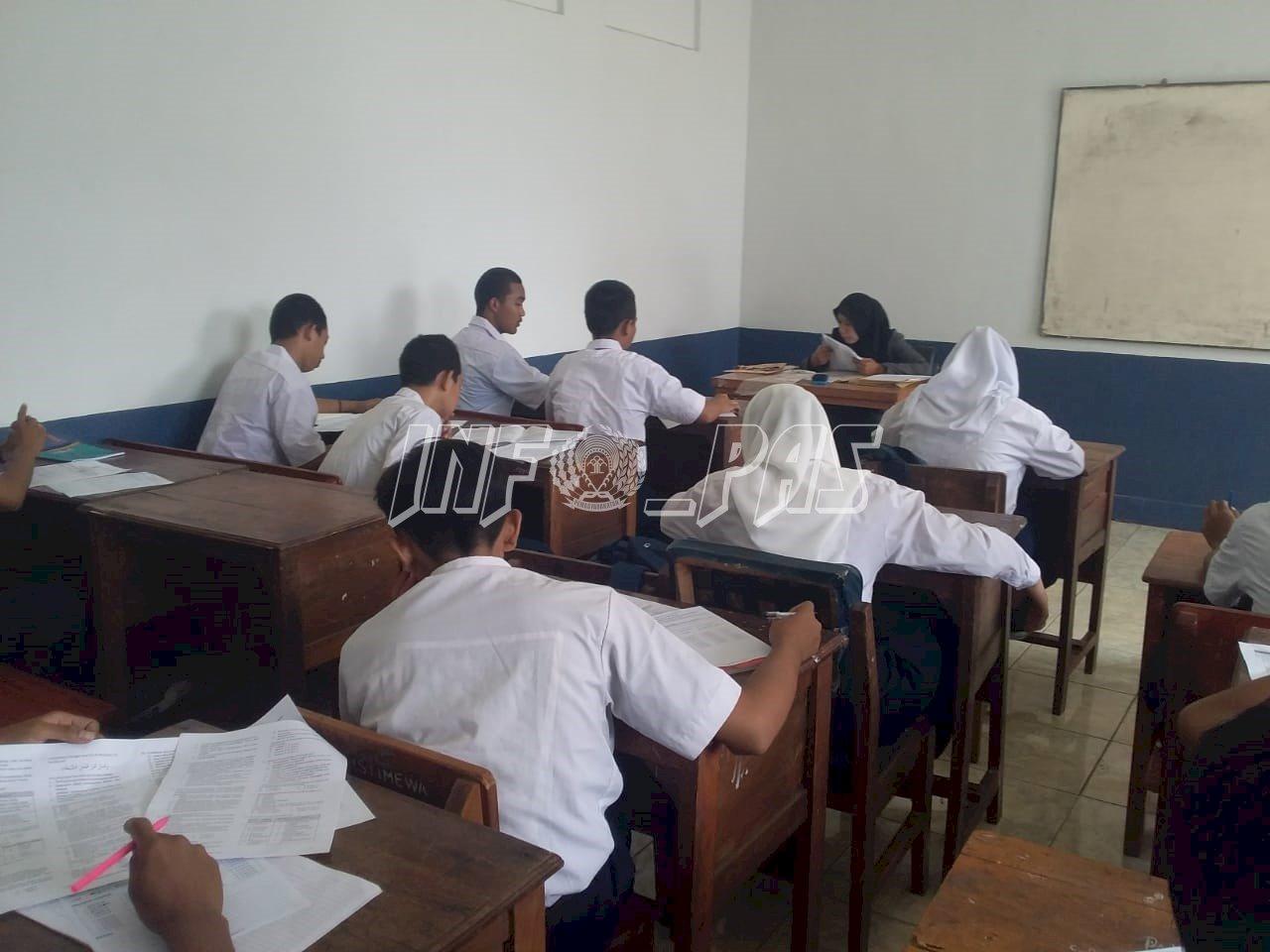 Siswa Yayasan Istimewa LPKA Tangerang Jalani Penilaian Akhir Semester Ganjil