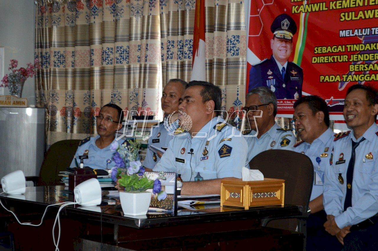 Tim Bintorwasdal Divisi PAS Sulsel Sambangi Lapas Watampone