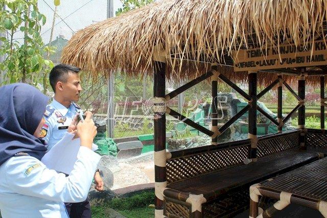 Tim Kanwil Banten Lakukan Monev WBK/WBBM ke Lapas Cilegon