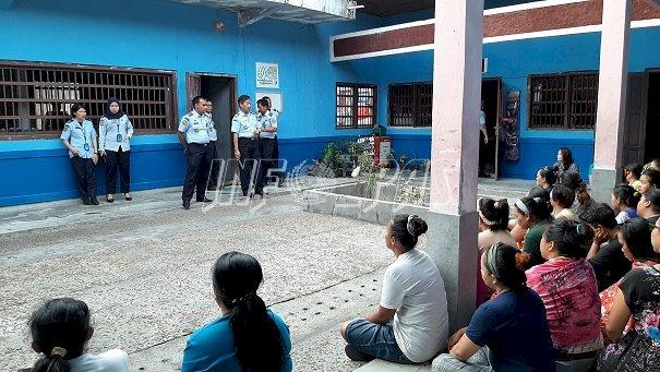 Kadiv PAS Kalteng Pantau Program Rehabilitasi di LPN Kasongan