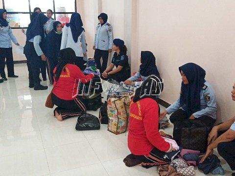 LPP Palangka Raya Terima 45 Tahanan/Narapidana Baru Dari Rutan Palangka Raya