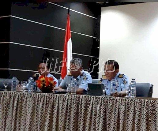 Direktur Watkes & Rehabilitasi Berikan Penguatan Kepada Ka. UPT PAS se-Sulut