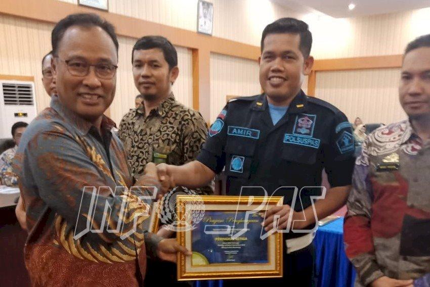 Rutan Bantaeng Terima Penghargaan dari KPPN Kab. Bantaeng