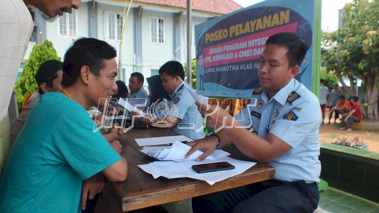 Narapidana Lapas Narkotika Jakarta Antusias Ikuti Crash Program PB dan CMB