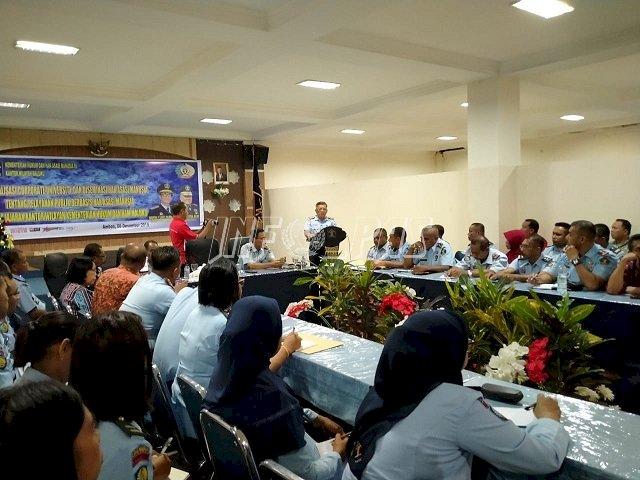 Divisi Pemasyarakatan Maluku Gelar Rakor Percepatan Crash Program