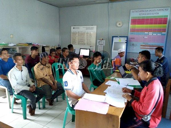 Sukseskan Crash Program, PK Bapas Muara Teweh Rela Tempuh Ratusan KM