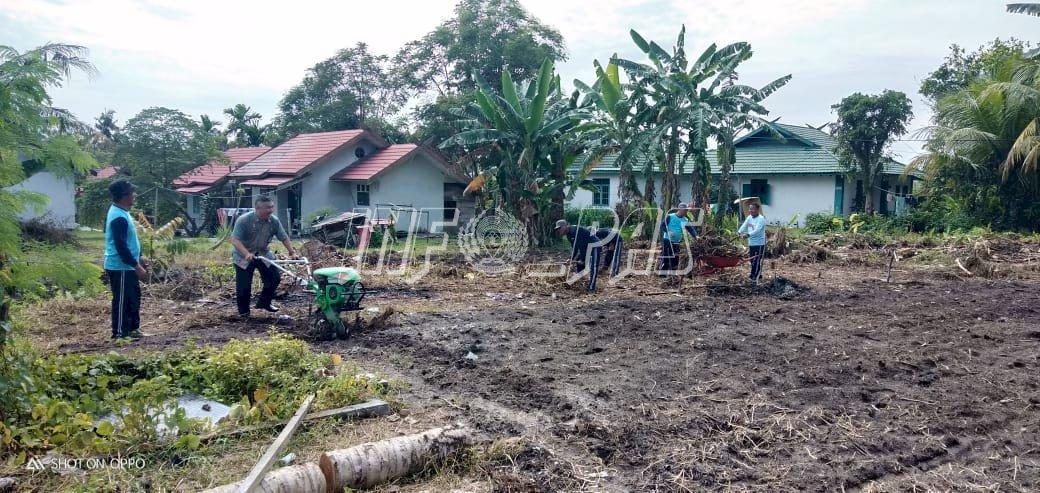 Lapas Pangkalan Bun Buka Lahan Kosong Demi Tingkatkan Produksi Pertanian