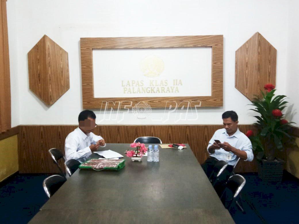 Jeruji Besi Tak Halangi WBP Lapas Palangka Raya Enyam Bangku Kuliah
