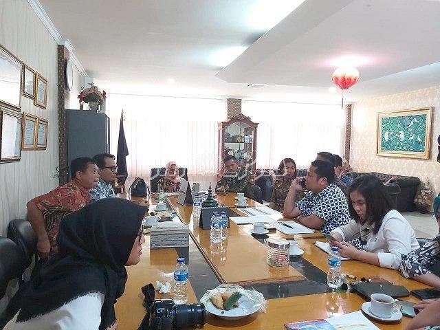 Tim Bintorwasdal Kanwil DKI Jakarta Pantau Laporan Keuangan, BMN, dan WBK LPN Jakarta