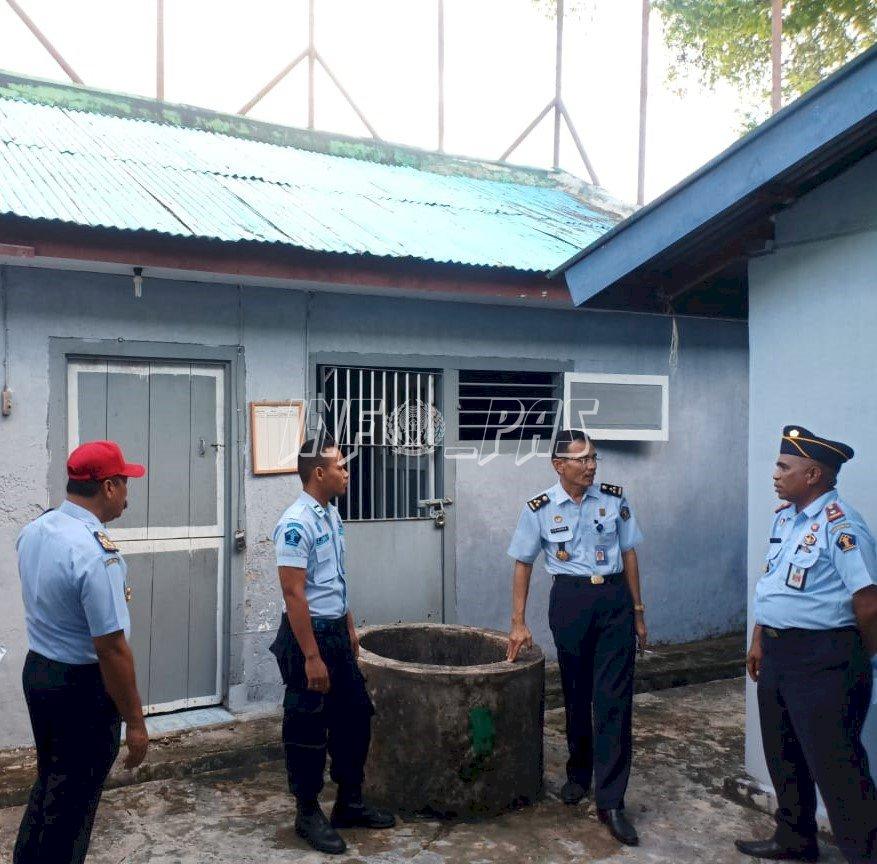 Kunjungi Cabrutan Saparua, Kadiv PAS Maluku: Tingkatan Layanan Kepada WBP