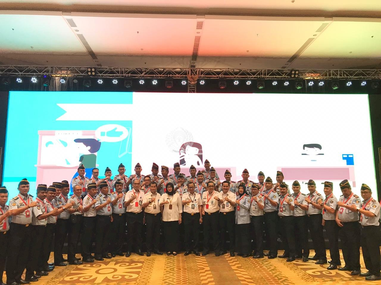 Rutan Pinrang Raih Penghargaan WBK & Layanan Berbasis HAM